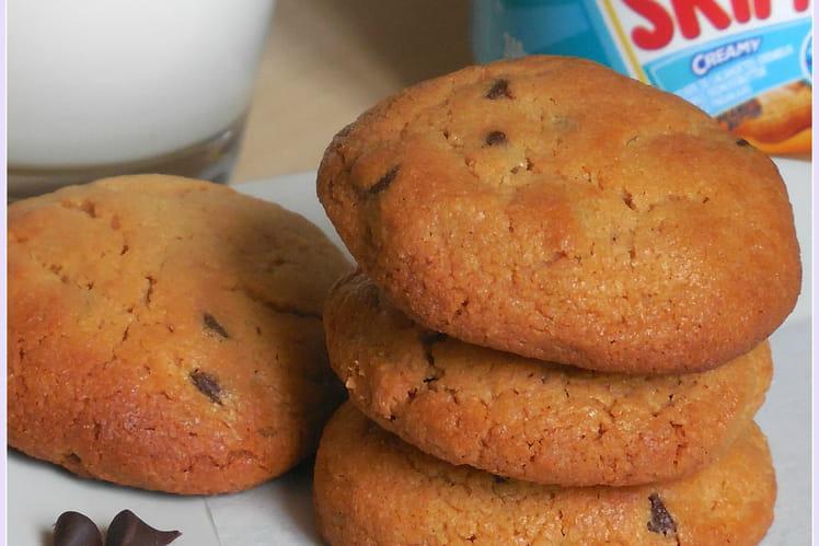 Cookies au beurre de cacahuètes et au chocolat