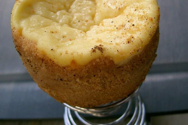Cheesecake aux petits-beurre et à la ricotta