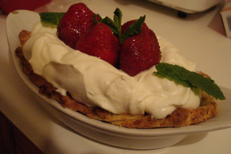 Tartelettes moelleuses aux fraises