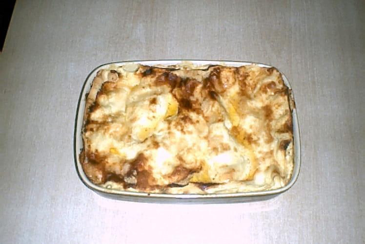 Lasagnes végétariennes aux cœurs d'artichauts