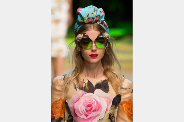 Le foulard turban du défilé Dolce & Gabbana