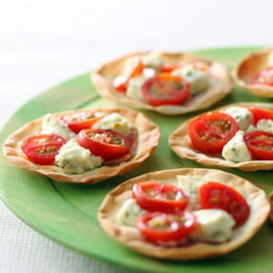 mini pizzas margherita kiri