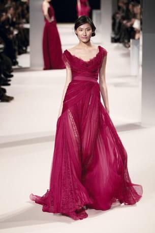 le défilé elie saab haute couture printemps-été 2011