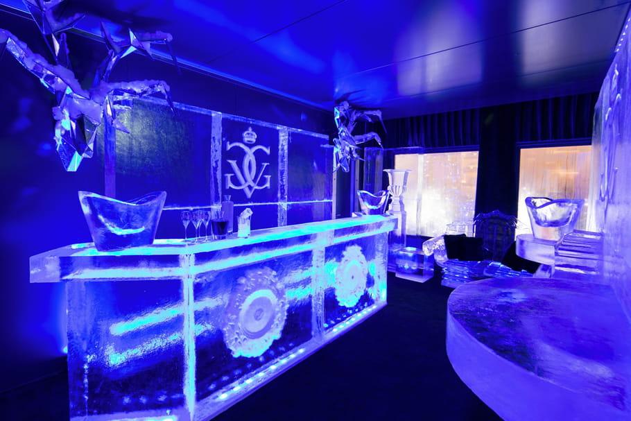 L'Ice Lounge, nouvel écrin polaire du Four Seasons George V