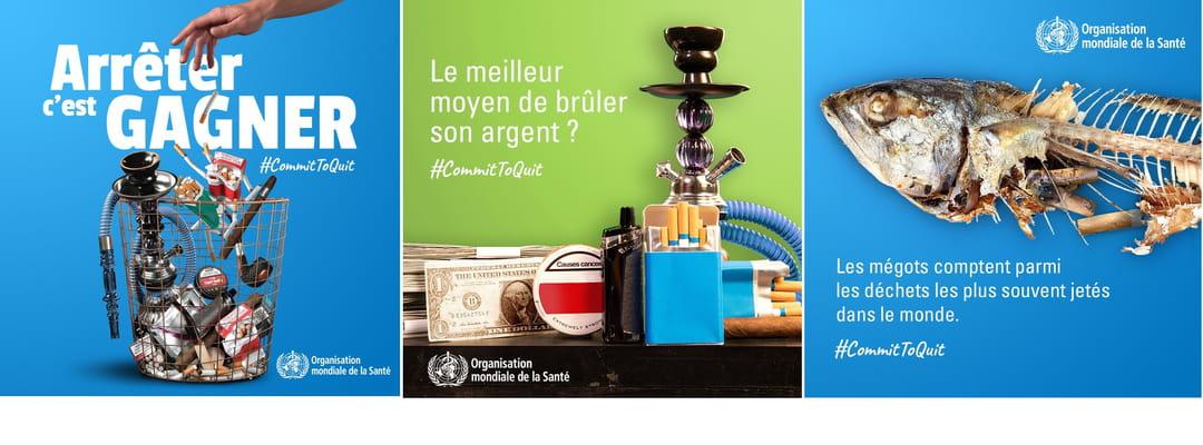 Affiche 2021 Journée mondiale sans tabac