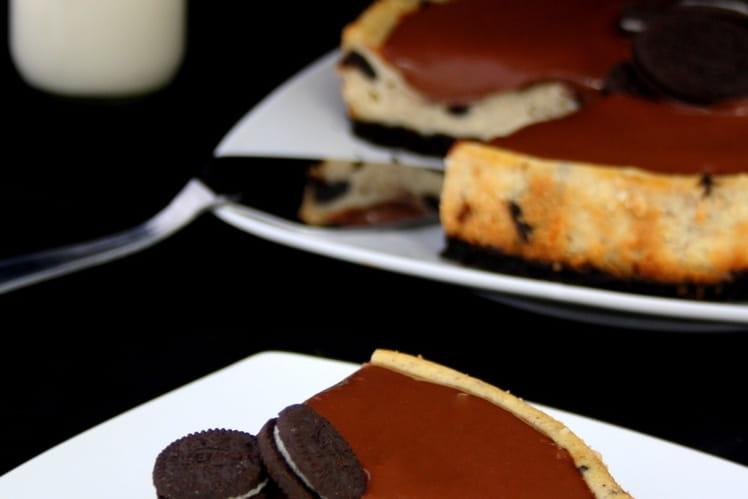 Cheesecake chocolat / vanille / oreo