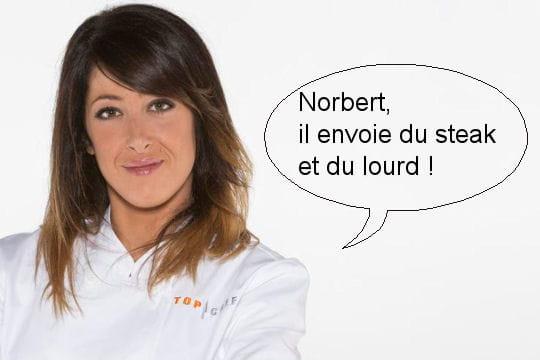 Latifa : Norbert, il envoie du steak et du lourd !