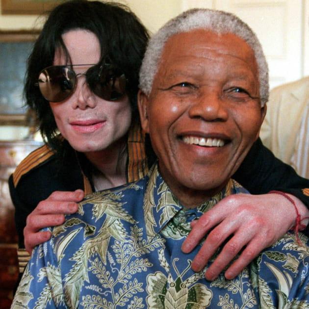 Mort Michael Jackson Nelson Mandela