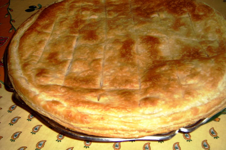 Galette pomme-cannelle