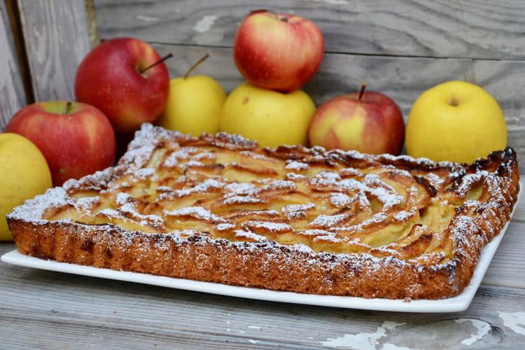 Tarte suisse moelleuse aux pommes