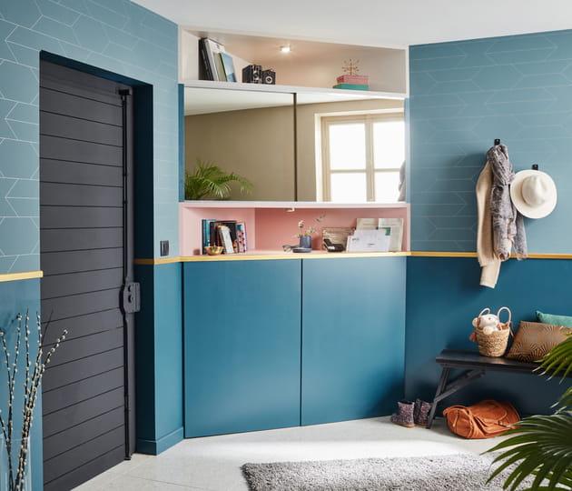 mixer peinture et papier peint. Black Bedroom Furniture Sets. Home Design Ideas