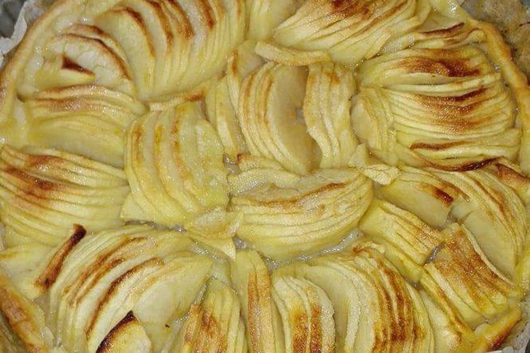 Tarte aux pommes à la pâte brisée