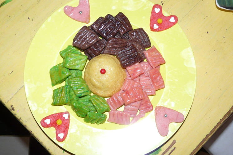 Gnocchis colorées