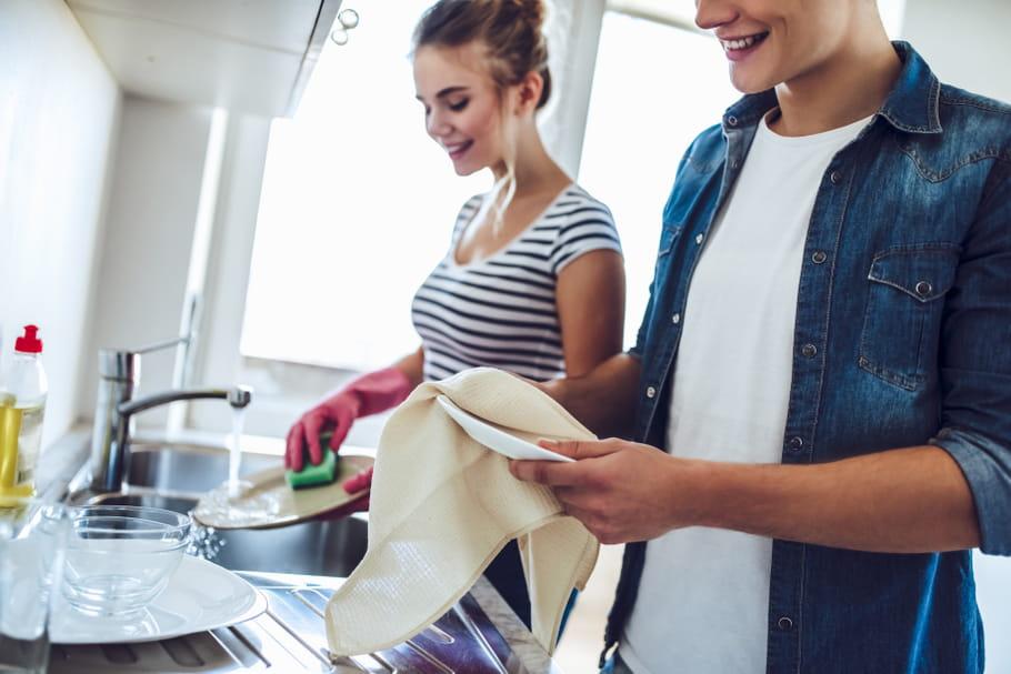 Pour un couple bien dans son assiette, partagez la vaisselle