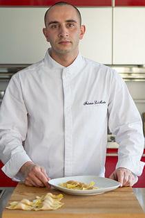 fabrizio la mantia, chef de l'hôtel castille à paris