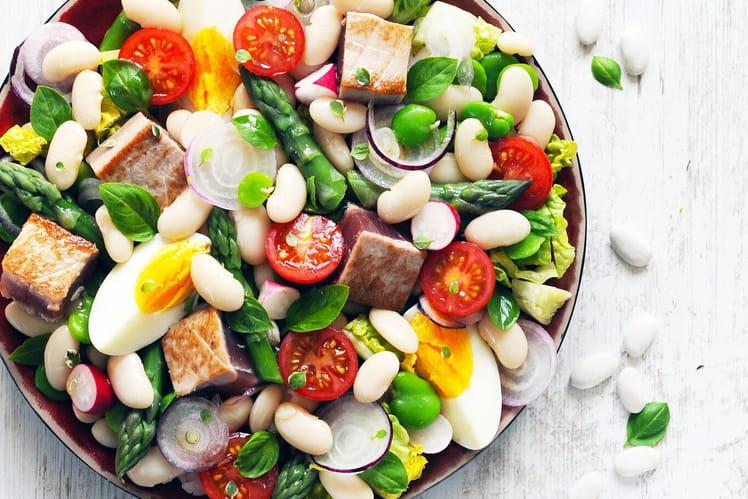 Salade niçoise aux Haricots Tarbais