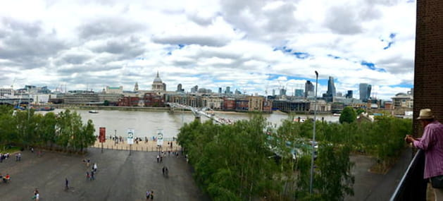 Tate Modern with view