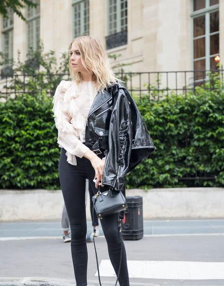 Street style à Paris : le perf' vernis