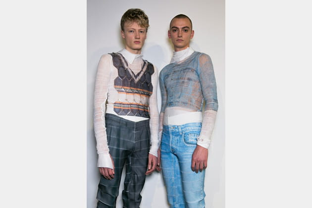 Central Saint Martins Ma (Backstage) - photo 8