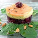 charlotte de legumes au saumon fume maggy malibert100