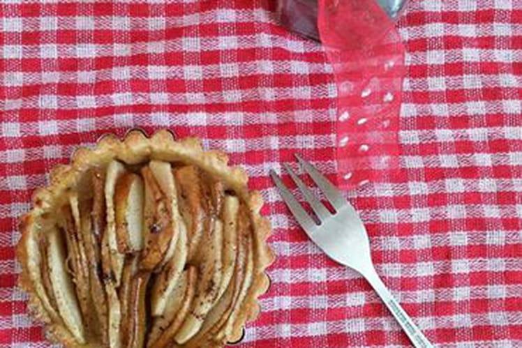 Tarte pommes et poires