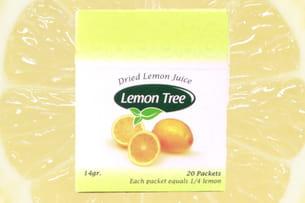 jus de citron déshydraté lemon tree