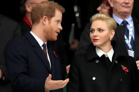 Charlène s'est fendu la poire avec Harry
