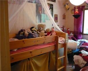 la chambre d'enfant de sophie avant les travaux