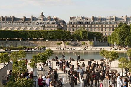 Un événement jardin aux Tuileries