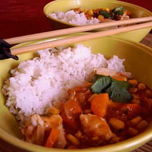 mijoté de dinde à la chinoise