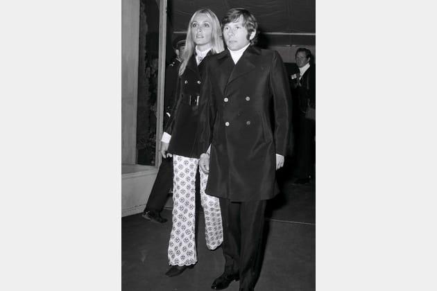 Roman Polanski et Sharon Tate, en 1968