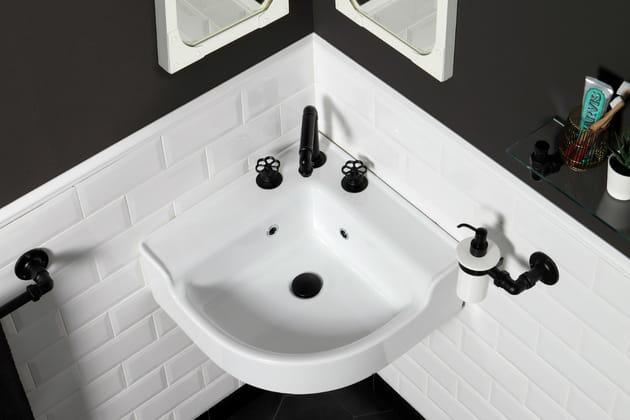 Un lavabo d'angle