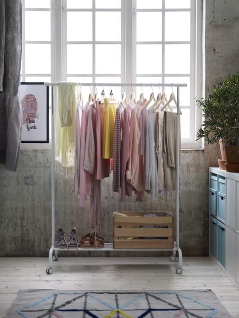 Portant à vêtements Rigga de Ikea
