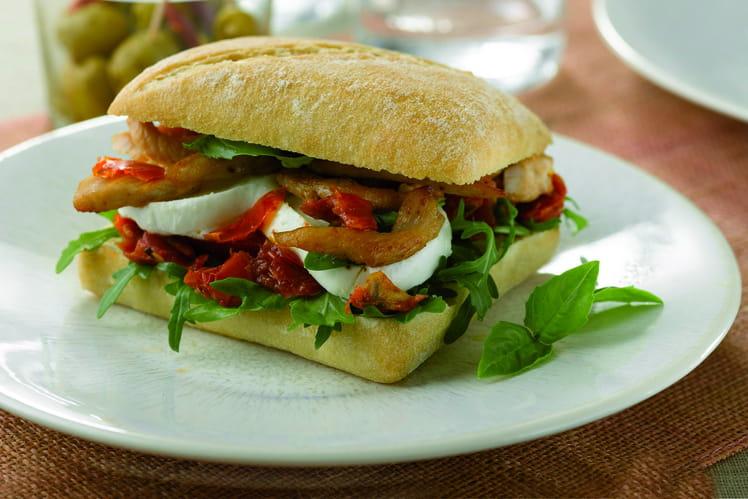 Hamburger méditerranéen