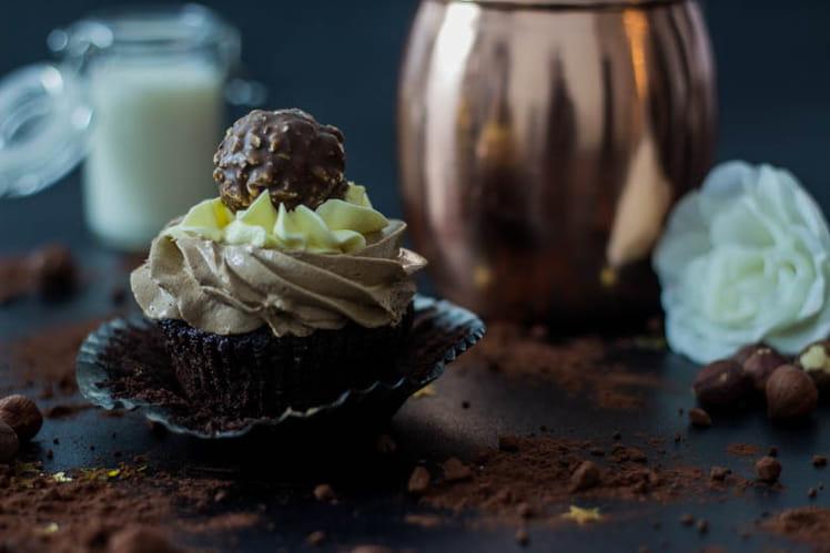Cupcakes Ferrero Rocher
