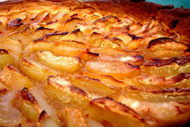 recette de tarte aux pommes compote et confiture de fruits la recette facile. Black Bedroom Furniture Sets. Home Design Ideas
