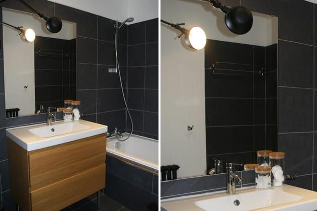 la salle de bains. Black Bedroom Furniture Sets. Home Design Ideas