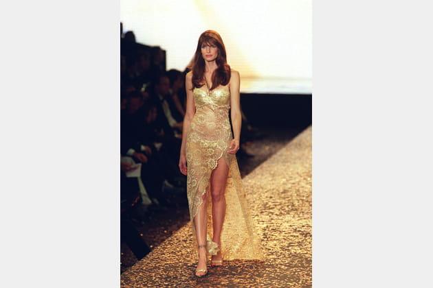 Stephanie Seymour le 18mai 2000