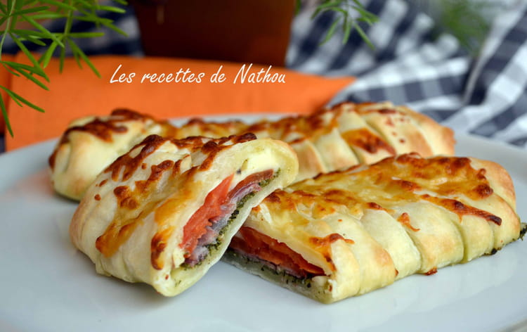 Recette de pizza calzone 100 italienne la recette facile - Pizza maison idee ...