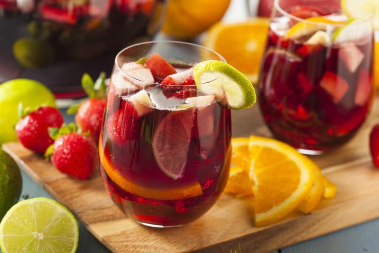 Sangria aux fruits d'été