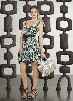 la robe fleurie de louis vuitton
