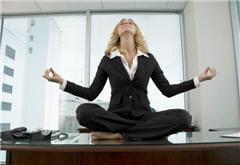 au bureau ou chez vous, prenez quelques minutes pour laisser flotter vos pensées