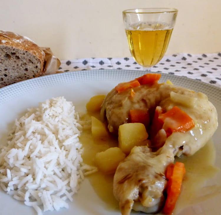 Recette poulet au cidre poulet - Cuisiner poulet au four ...