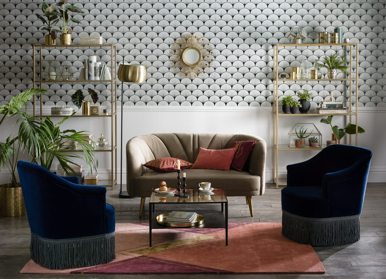 canap leone et fauteuils ramona de la redoute int rieurs. Black Bedroom Furniture Sets. Home Design Ideas