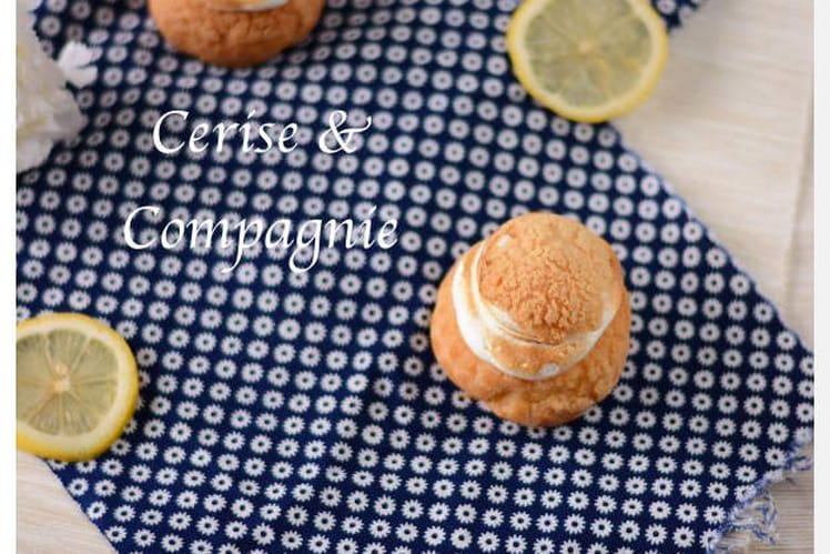 Chou façon tarte au citron meringuée