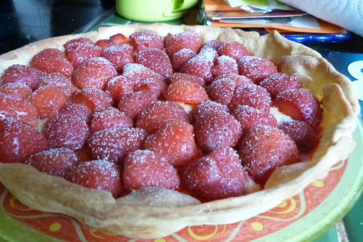 Tarte aux fraises de grand-mère