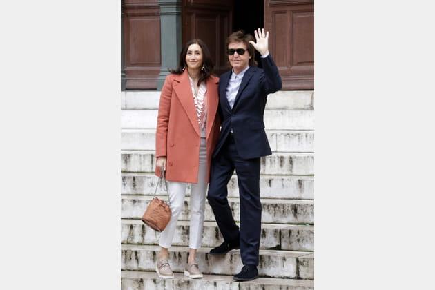Paul McCartney et Nancy Shevell