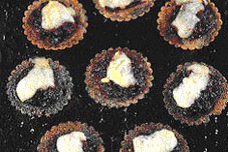 Galettes de blé noir, confiture d'oignons, livarot