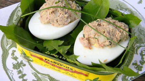 Comment enlever coquille œuf dur