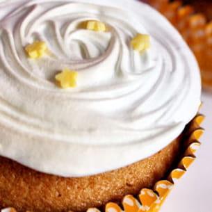 cupcake façon tarte au citron